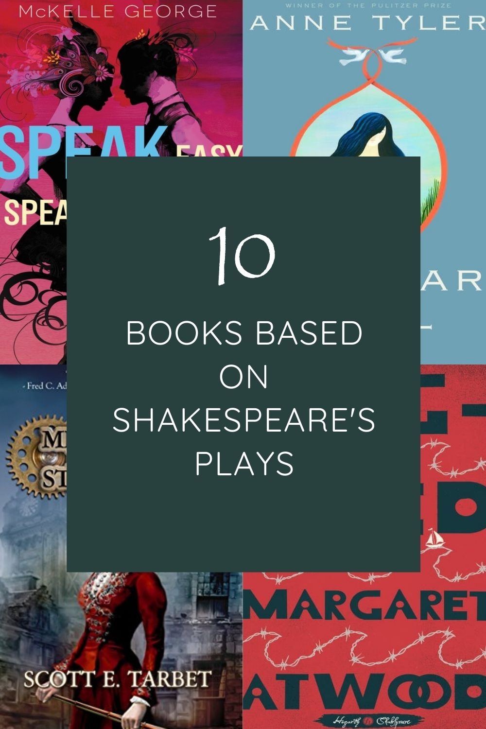 ten books based on Shakespeare's plays